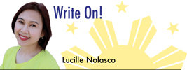 Write On! by Lucille Nolasco
