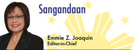 Sangandaan by Emmie Z. Joaquin, Editor in Chief