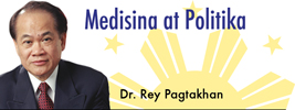 Medisina at Politika by Dr. Rey Pagtakhan