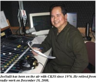 Joe Sulit at radio control board
