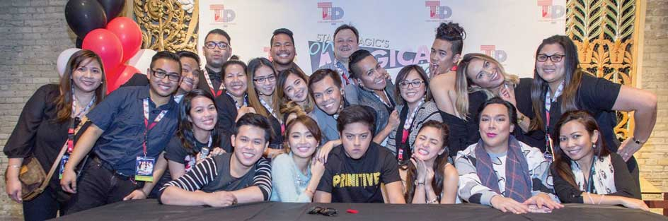 One Magical Night stars with the Todd Labelle Promotion Team. Photo by AJ Batac