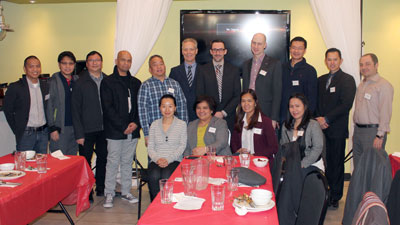 With guests from the provincial association Chinese and Arab chapters