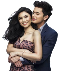 Nadine Lustre & James Reid