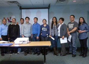 Litos induction as Filipino Members Chapter President