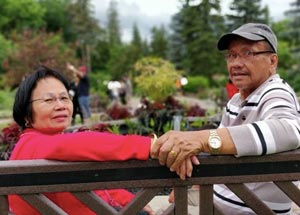 Jeraldine's parents, Mr. & Mrs. Ocampo
