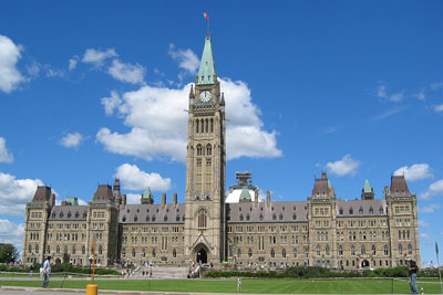 The Centre Block, Parliament Hill, Ottawa, Canada